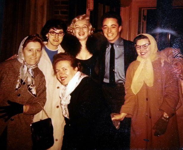 Marilyn Monroe y amigos
