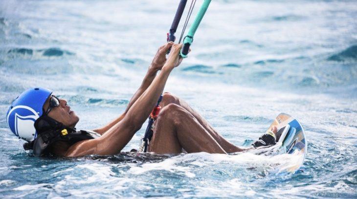 Barack Obama de vacaciones