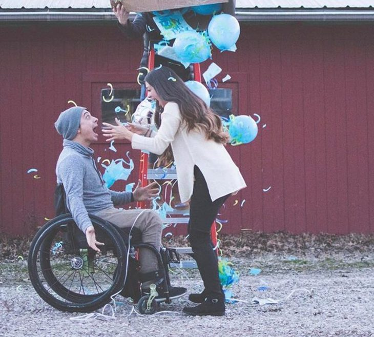 pareja paraplejico