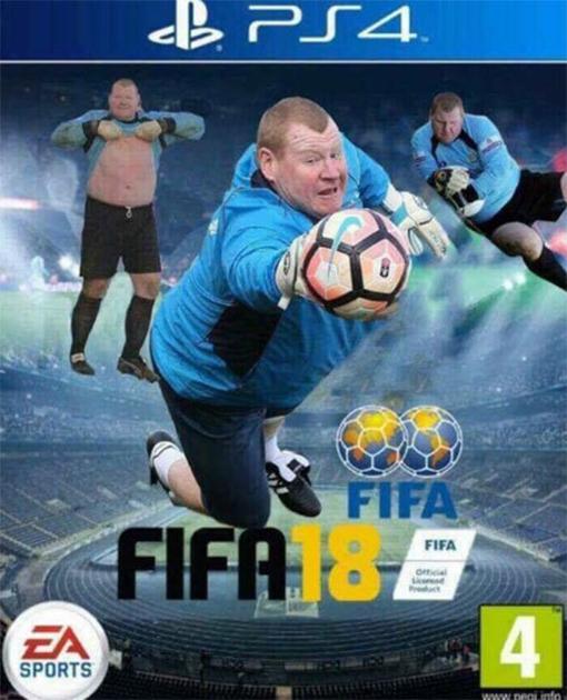 Portada chistosa de Fifa