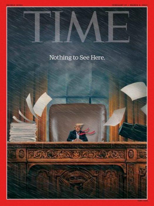 Tiny Trumps revista Time