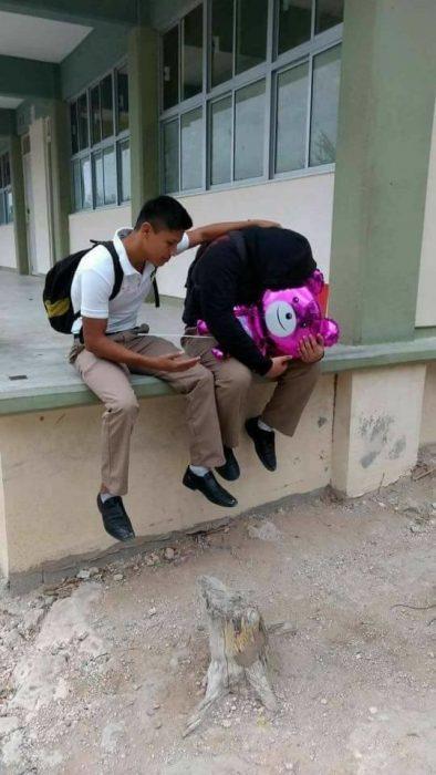 Tristes en Día de San Valentín