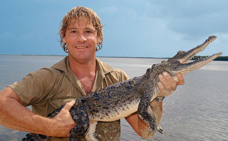 Steve Irwin cazador de cocodrilos