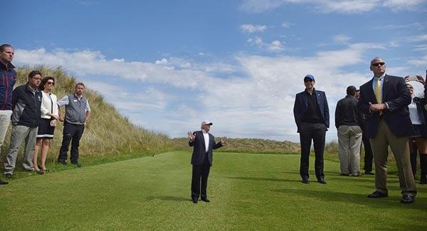 Tiny Trumps golf