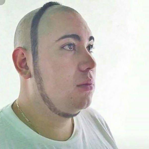 Se rasura menos barba