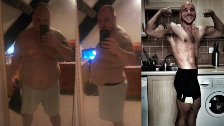 James Fry comparación de cuerpo