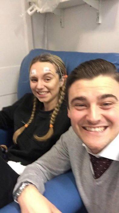 Jessica y Rich en recuperación