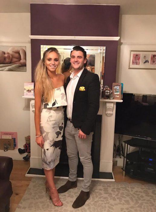 Jessica y Rich de gala