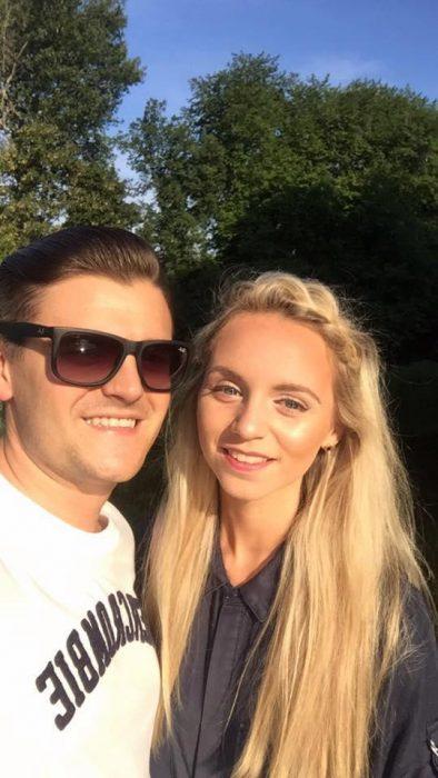 Jessica y Rich gafas de sol