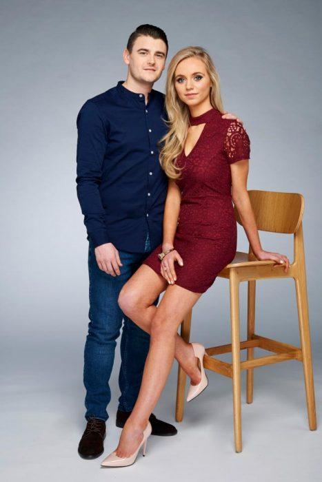 Jessica y Rich foto en silla