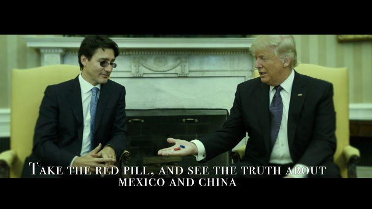 Trudeau y Trump en Batalla de Photoshop