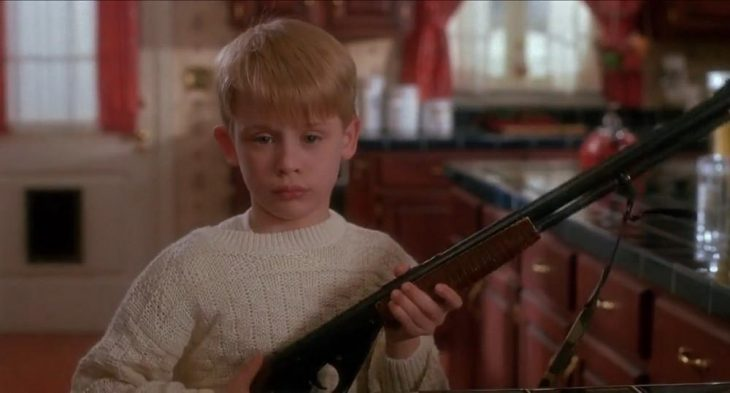 home alone escopeta