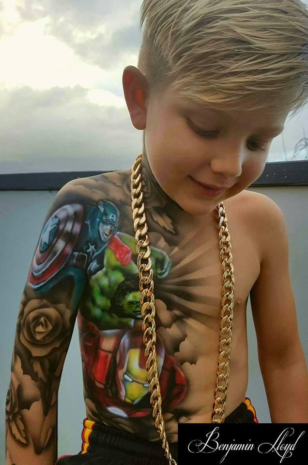 Esse Artista Faz Tatuagens Incr 237 Veis Em Crian 231 As Doentes