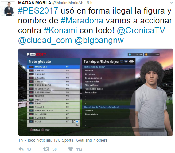Abogado Maradona Twitter