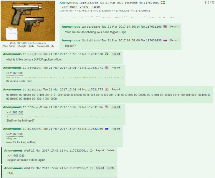 4chan post atentado Londres