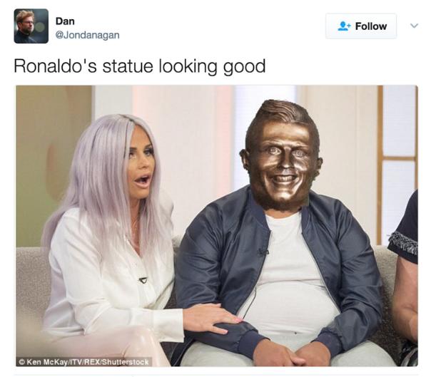 ronaldo meme