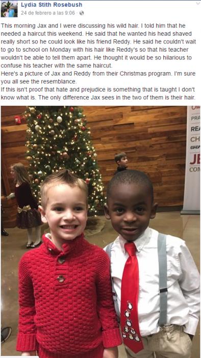 niños pelo corte