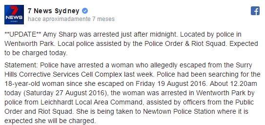 arrestada