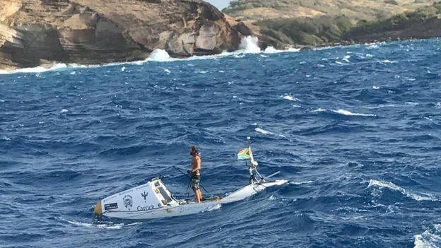 Cruza el atlántico