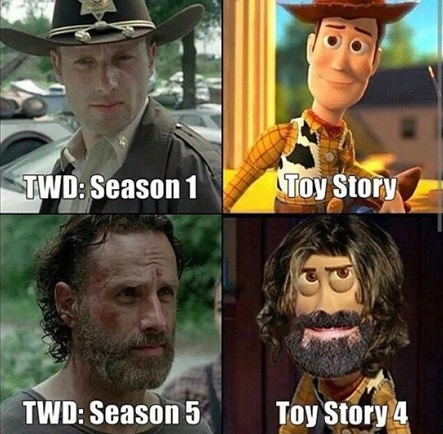 toy story walking dead