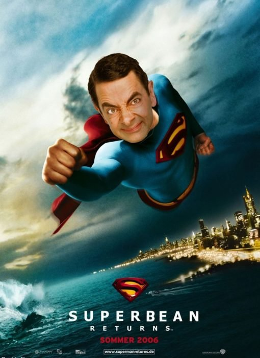 Mr Bean Photoshop LGDV