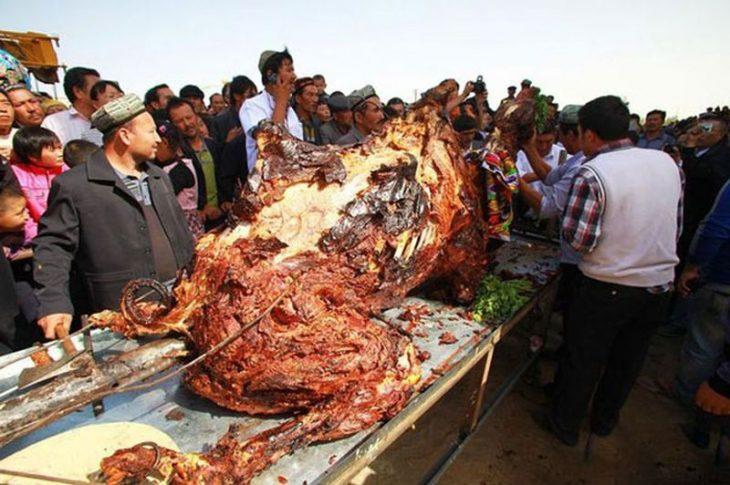Camello asado