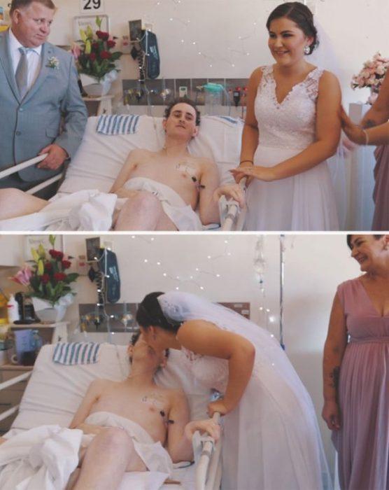 Matrimonio en el hospital