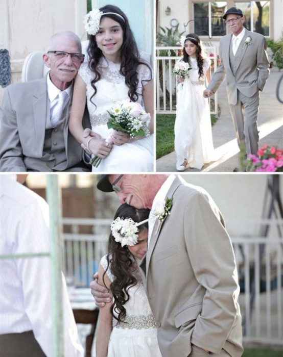 Entrega simbólica de la novia