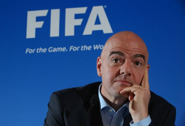 Gianni Infantino presidente de FIFA