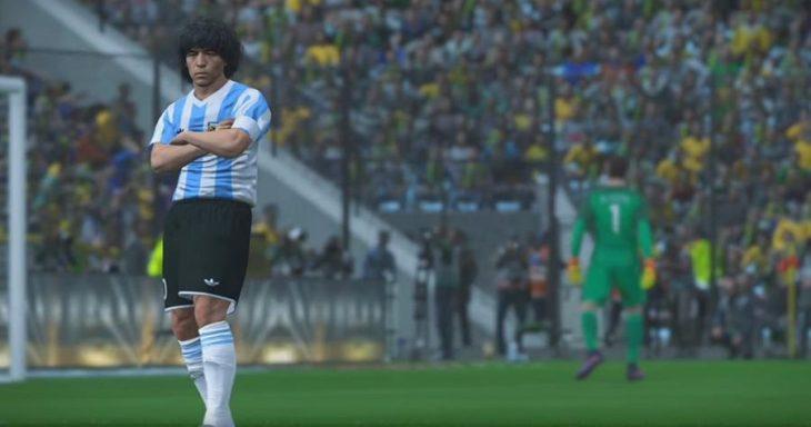 Maradona demanda a PES