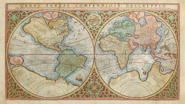 mapamundi Mercator