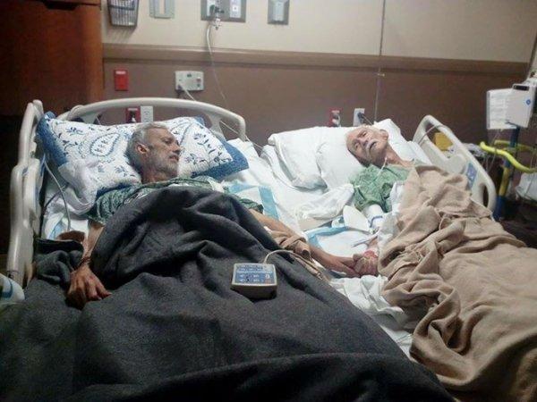 Enfermos en hospital