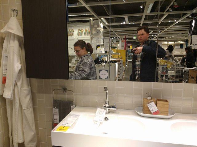 Pareja IKEA