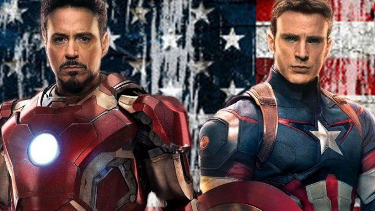 ironman y capitan america