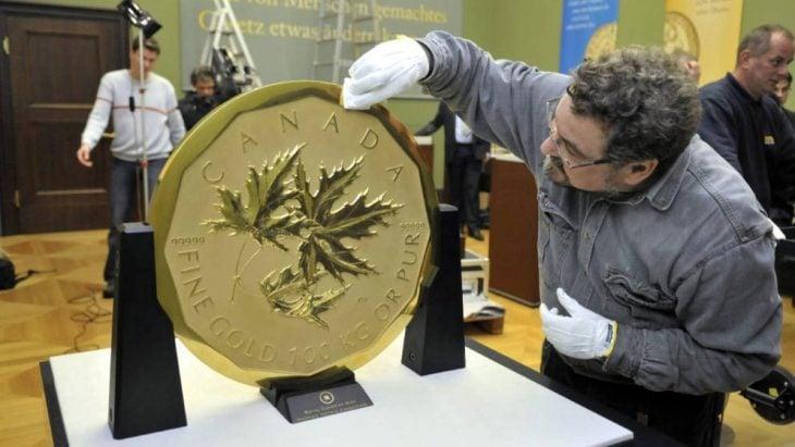 La moneda de oro más grande del mundo