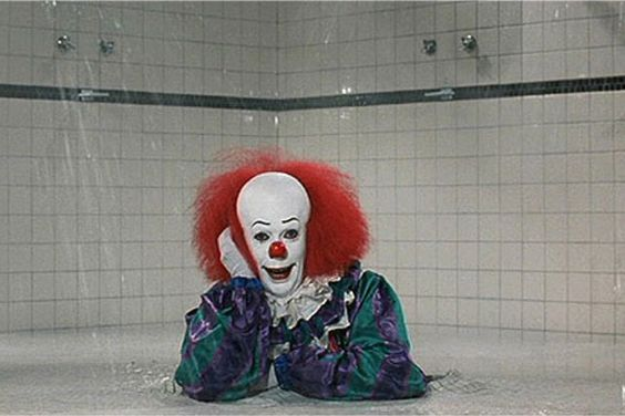 payaso baño