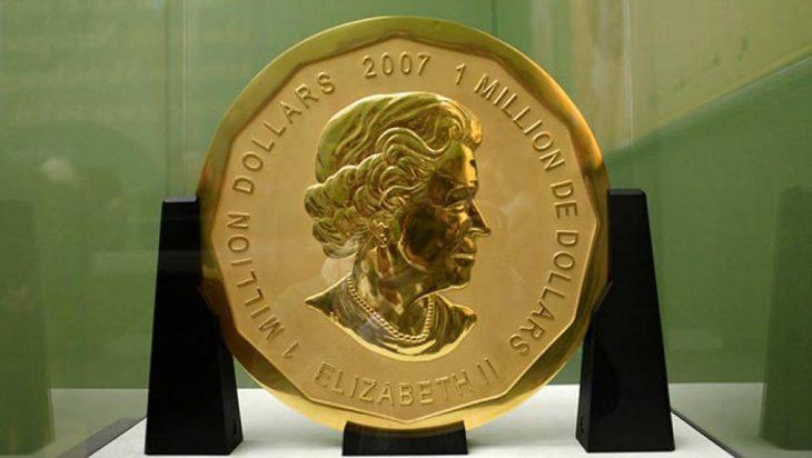 Moneda de oro más grande del mundo