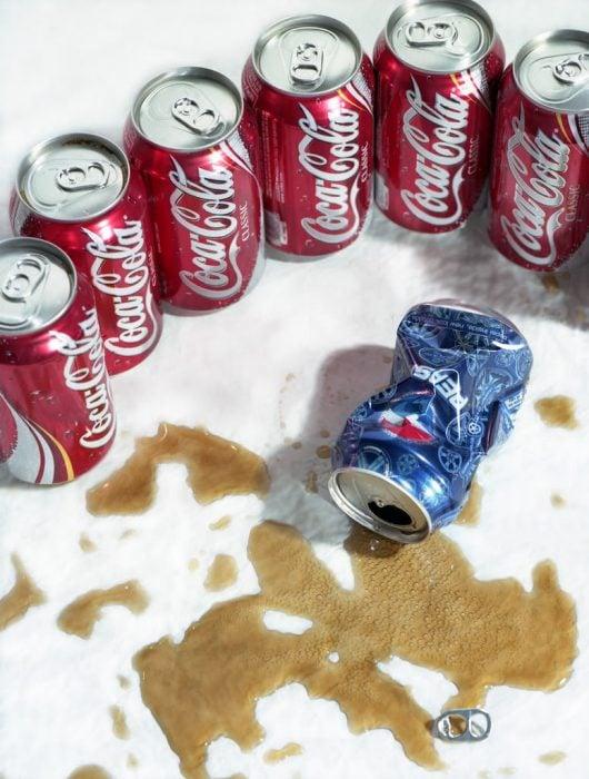 Pepsi derrotada por Coca Colas