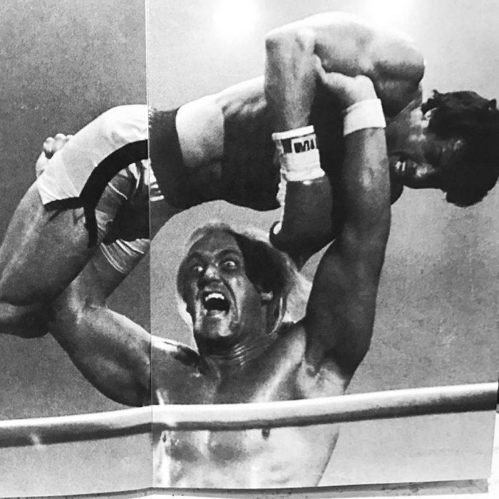 Rocky y Hulk Hogan