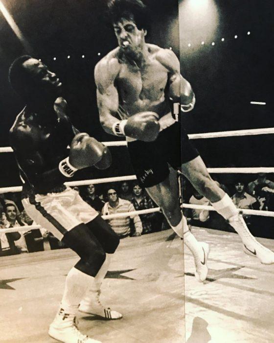 Rocky volando