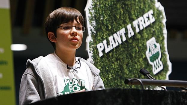 niño plant trees