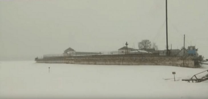 Prisión de Petak Island, Vologa en Rusia