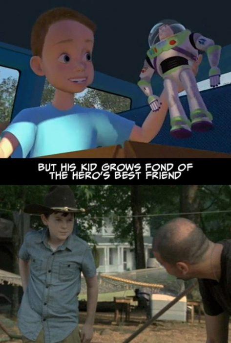 niño heroe toy story