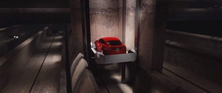 Elon Musk The Boring túnel