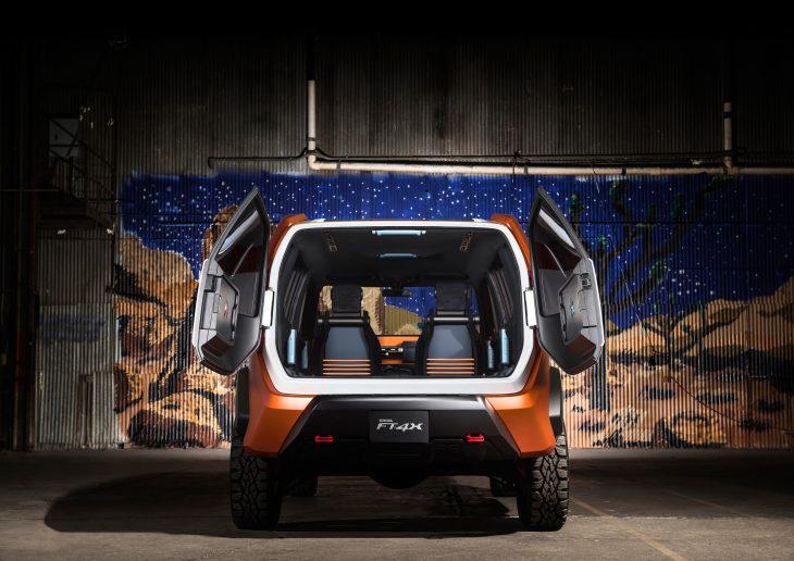 Toyota FT-4X Concept cajuela