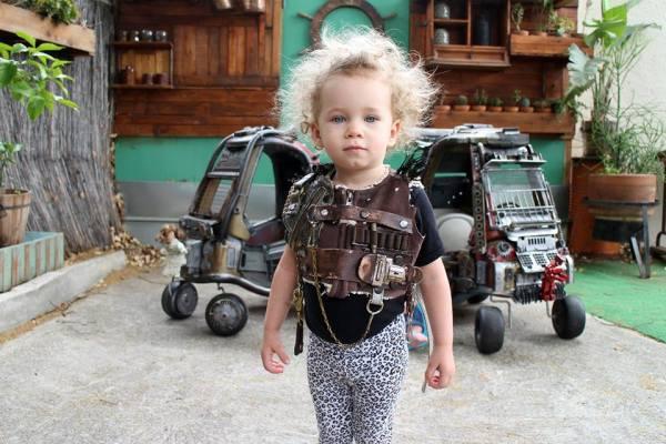 Transforma autos de sus hijos al estilo mad max