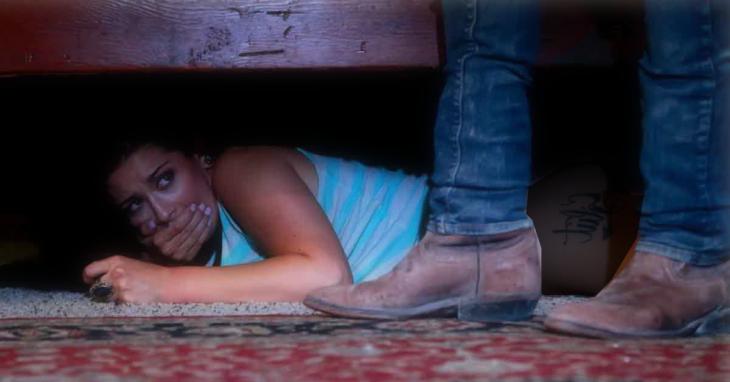 2809bc39e Desconfiada decidió espiar al novio bajo la cama; salió peor