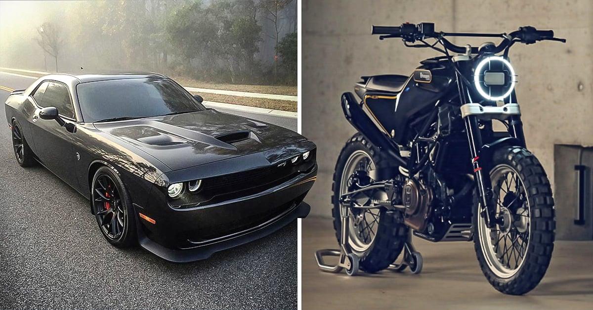 Carros Motos Y Gears Negros Que Todo Hombre Necesita