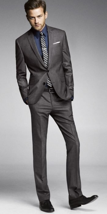 Charcoal Gray Suit