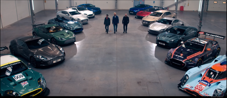 aston martin video 85 millones automoviles